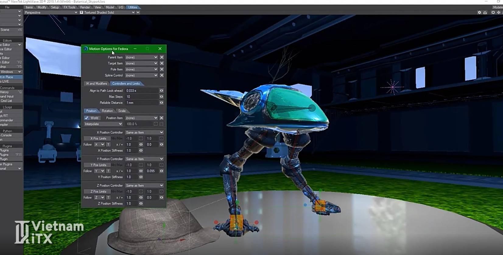 NewTek LightWave 3D 2020 phần mềm sản xuất phim hoạt hình 3D chuyên nghiệp free tutorial.jpg